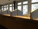 Absorber-Stellwände, Tisch- und Schrankaufsatzelemente F4