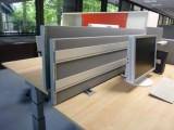 Absorber-Stellwände, Tisch- und Schrankaufsatz-Elemente DMS4