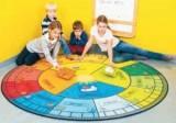 Absorber-Lernspielteppiche