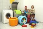 Org-Delta: Spielzeug-Wasch-Trockner PlayWash