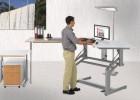 Org-Delta: Steh-Sitz-Arbeitstisch CAD100